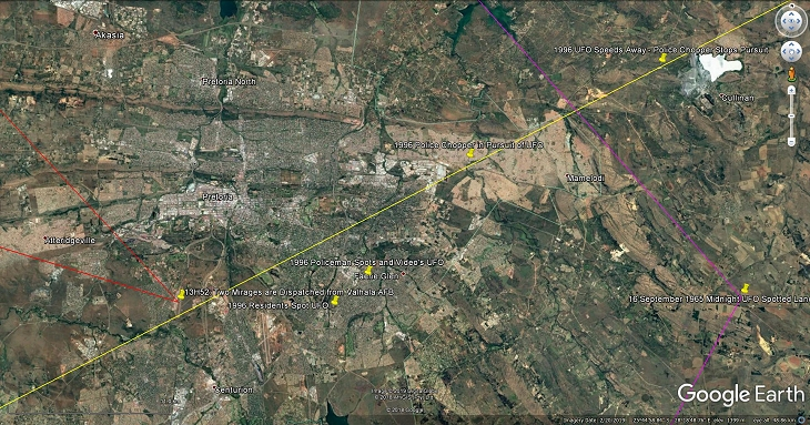 A close-up look at the location of this incident - Source: Google Earth