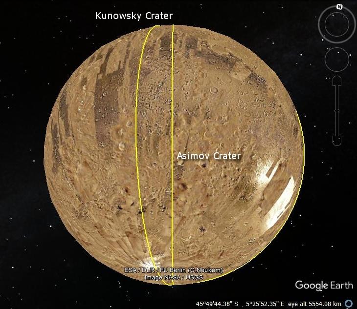 Kunowsky-Asimov Ley Line