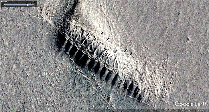Base discovered in Antarctica (click for larger image)