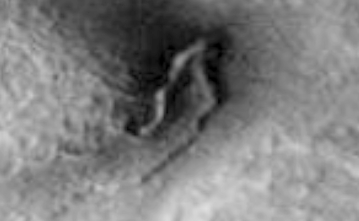 Bent Pipe or Tubing found on Mars - One