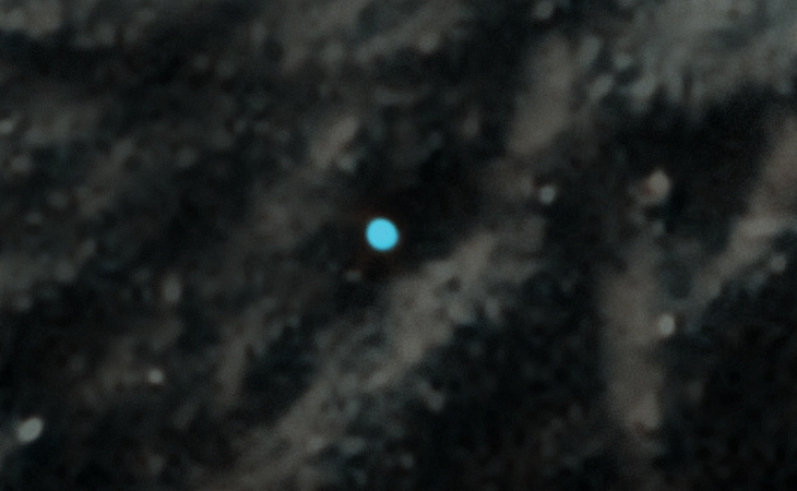 Bright Blue Object Captured on Mars