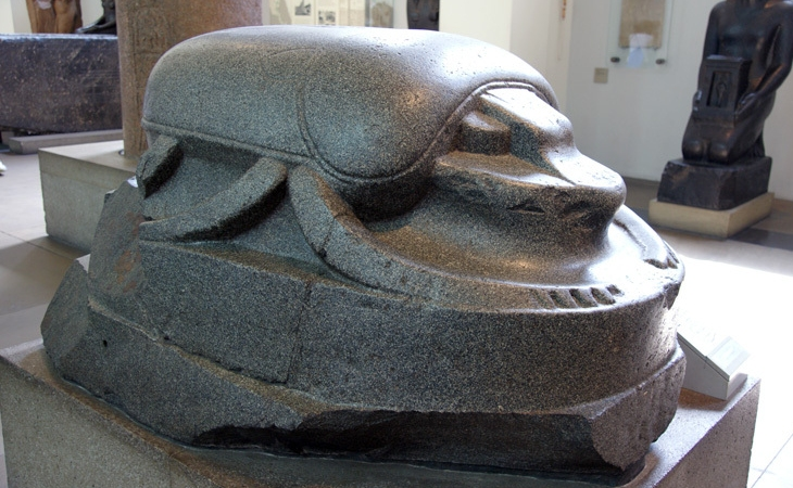 Scarab Sculpture - Source: British Museum