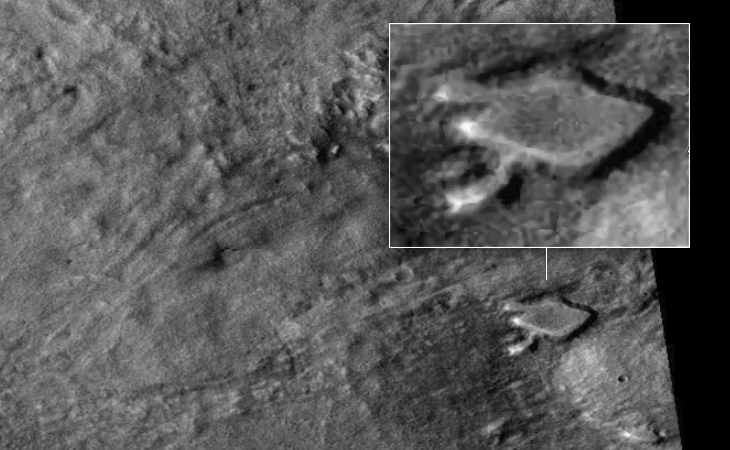 Mechanical 'Bug' on Mars