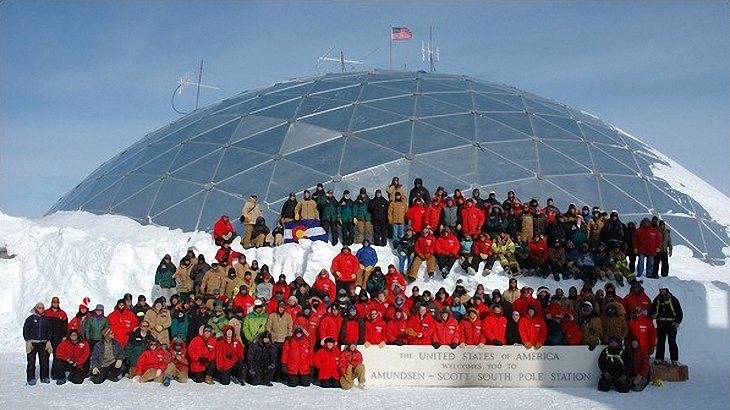 Amundsen-Scott South Pole Station dome