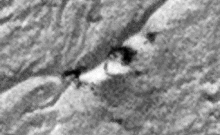 Classic UFO with Large Disc and Dome including Triangular-Shaped Secondary Debris?