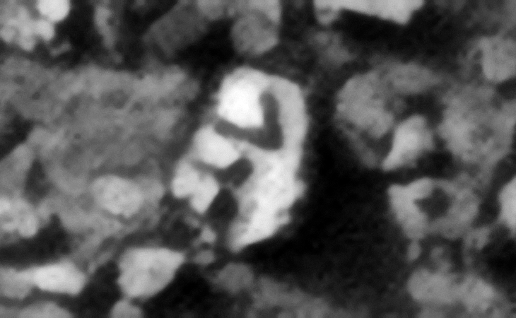 Anomaly East of Redi (click for larger image at actual 1:1 scale size)