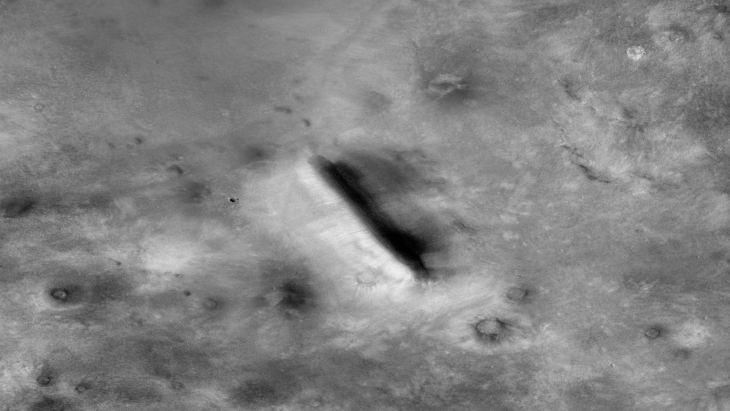 Partially Buries Megalithic Block or Structure (F16_041919_2305_XN_50N278W - Closer View)