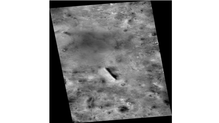 Partially Buries Megalithic Block or Structure (F16_041919_2305_XN_50N278W - Zoomed Out)