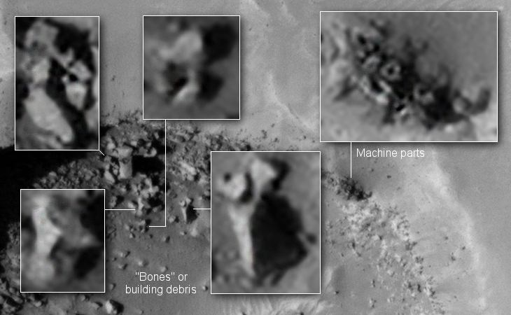 Giant Standing Megalith found on Mars? - I