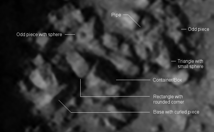 Giant Standing Megalith found on Mars? - III