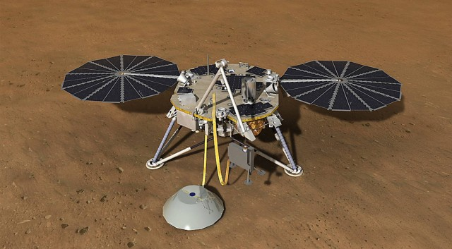Insight Lander, source: NASA