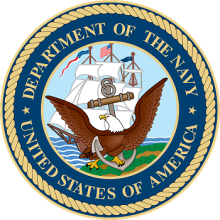 Logo: Department of the Navy