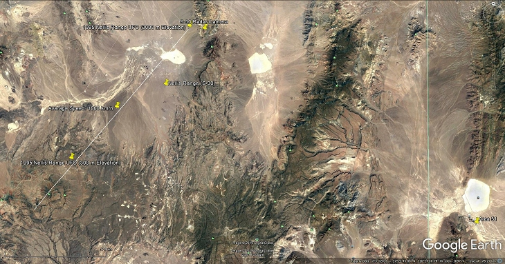 A look at the incident in Google Earth - Source: Google Earth