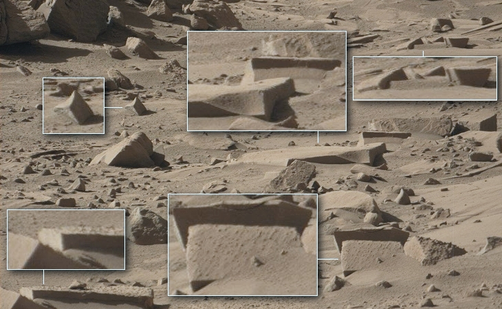 Rover Curiosity - Several Blocks (0618MR0026010370401306E01_DXXX)