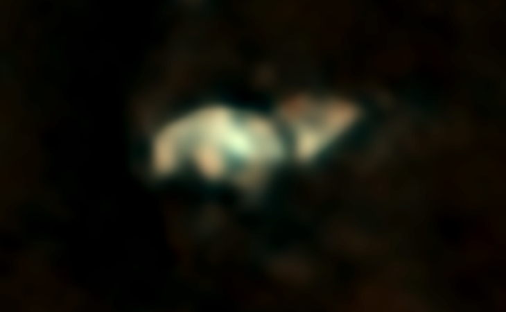 'Astronaut' and other technology spotted on Mars? - Crescent-shaped craft II