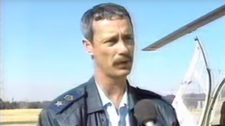 Supt. Fred Viljoen - Source: SABC-TV News