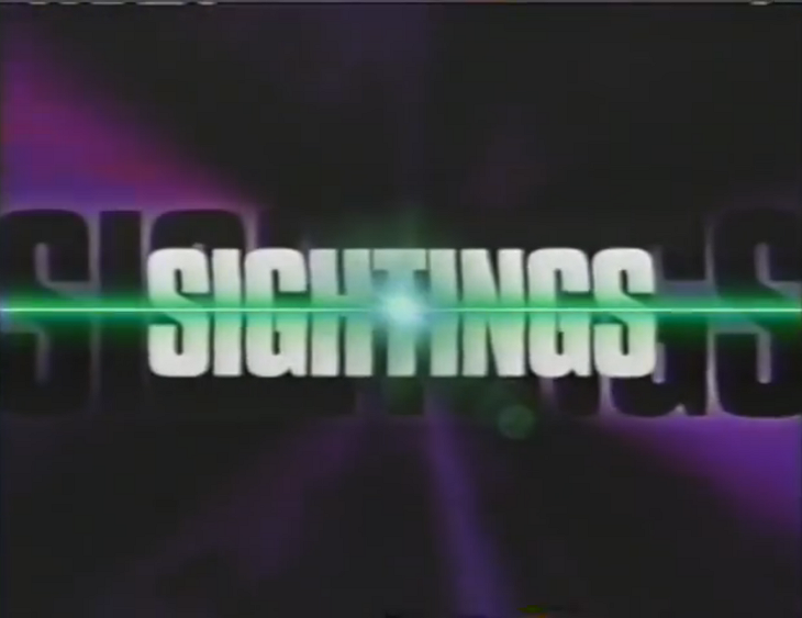 Sightings Logo - Source: YouTube