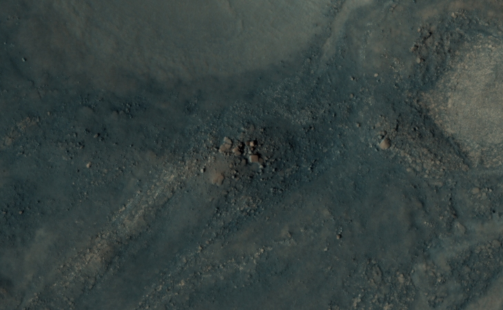 'Stranger Things' on Mars - Stone Blocks