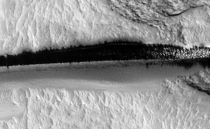 Strange Parallel Lines found on Mars - I