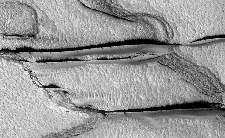 Strange Parallel Lines found on Mars - II