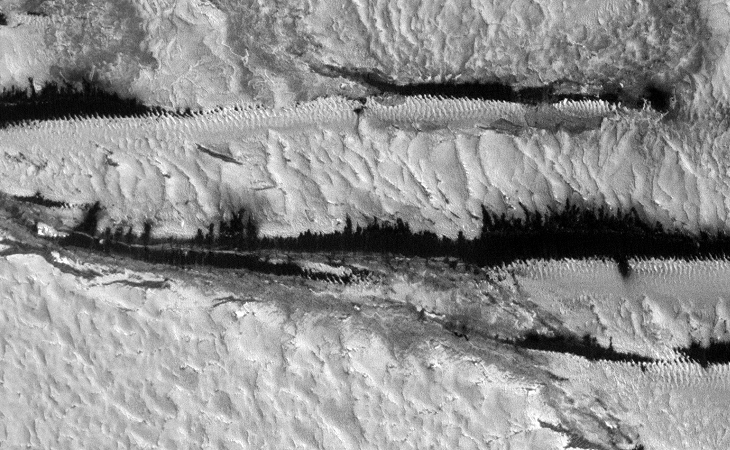 Strange Parallel Lines found on Mars - III