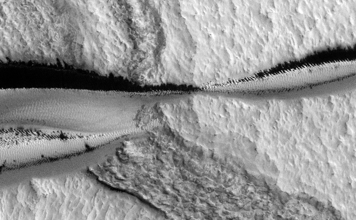 Strange Parallel Lines found on Mars - V
