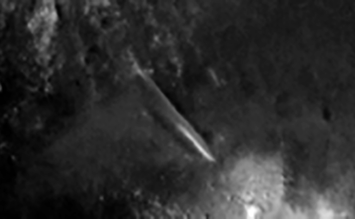 Could this be a wall, object or structure on the Martian surface?