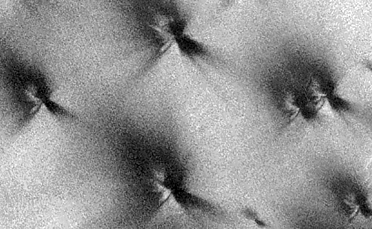 Weird Pyramid-Like Structures found on Mars? - II