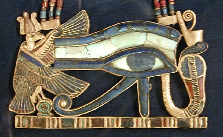 Eye of Horus pendant - Source: wikipedia.org