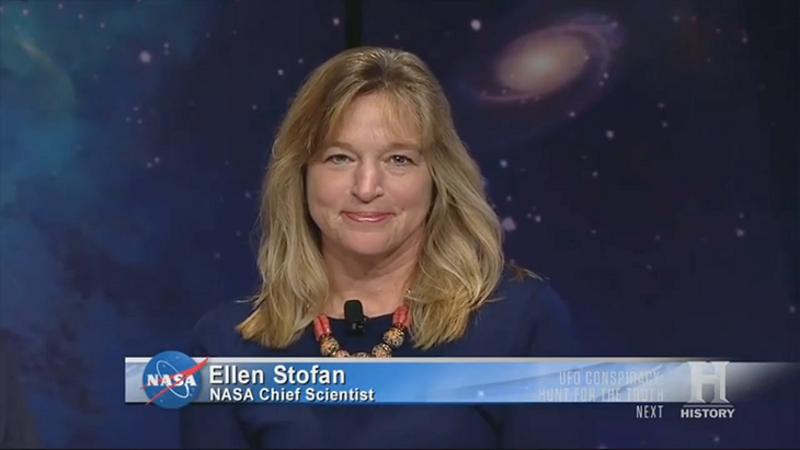 Ellen Stofan: 'I think we are going to have strong indications of life beyond Earth within a decade and I think we are going to have definitive evidence within 20 to 30 years' - Source: Ancient Aliens S12 E09 (2017): Majestic 12