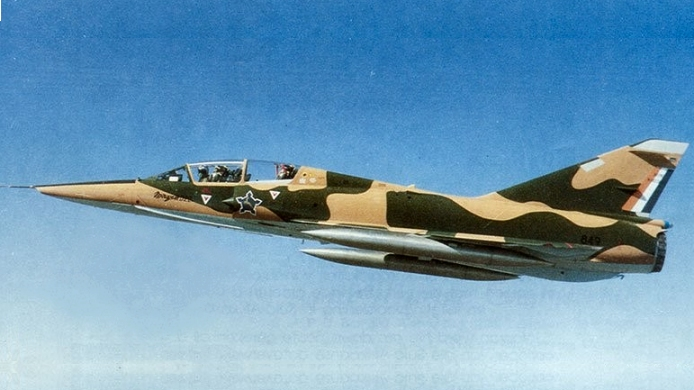 SAAF Mirage Jet Fighter