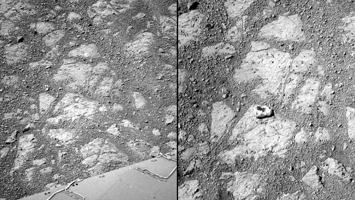 Mars Opportunity rover finds mysterious doughnut-shaped rock