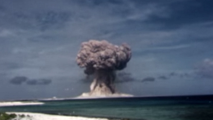 Nuclear Explosion at Sea