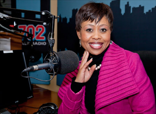 Redi Tlhabi (Talk Radio 702) - Source: sowetanlive.co.za
