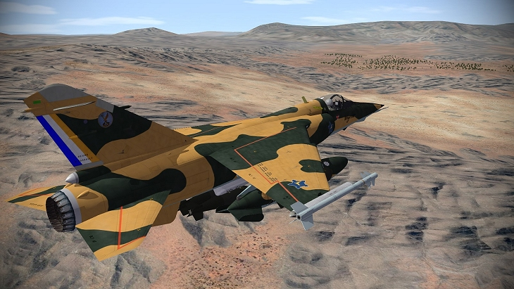 South African Mirage Jet Fighter engaged in the Border War - Source: steemitimages.com