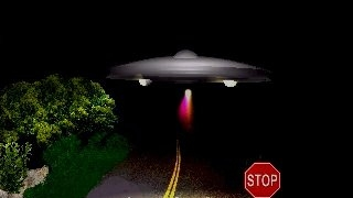 Craft landed next to the white middle line of the Pretoria–Bronkhorstspruit road - Source: ufocasebook.com